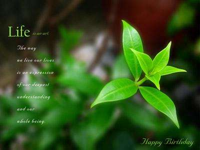 Zen Buddhist Birthday ...