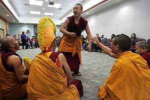 Tibetan monks share culture, wisdom with Brookdale students in Middletown